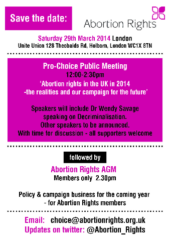 ProChoice meeting 2